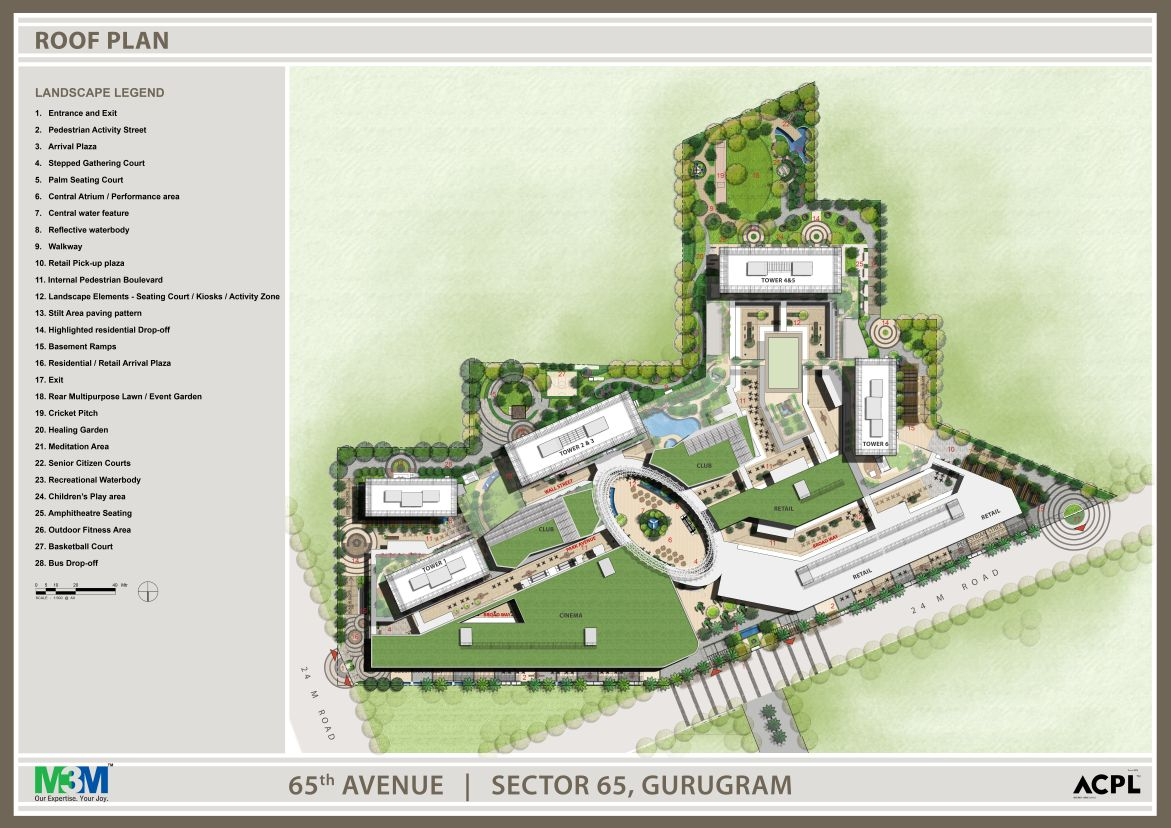 M3M-Heights-Site-Plan