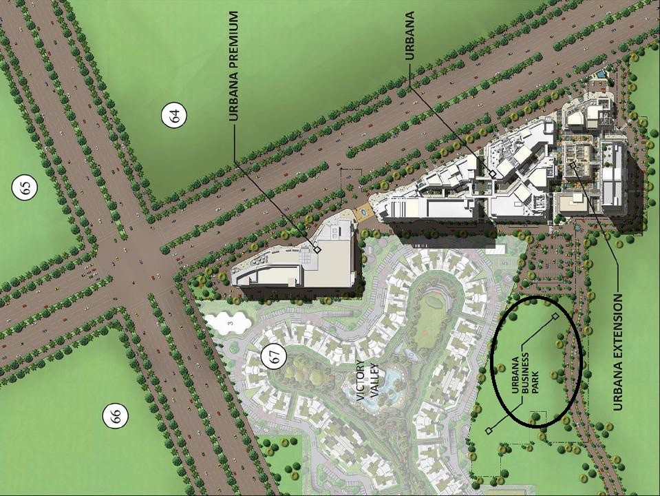 M3M Urbana Business Park Master Plan