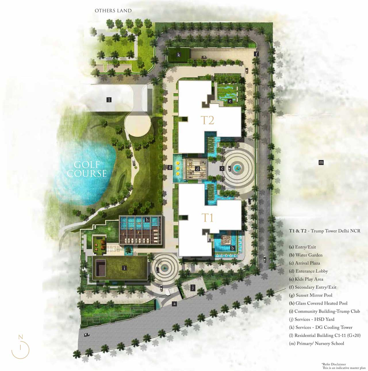 Trump-Tower-Gurgaon-Master-Plan