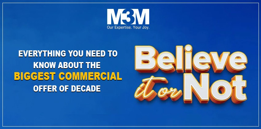 M3M Believe It Or Not - Commercial Projects in Gurgaon
